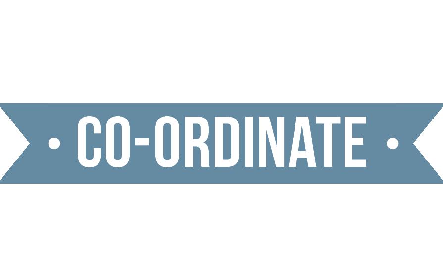 Correspond, Co-ordinate, Communicate