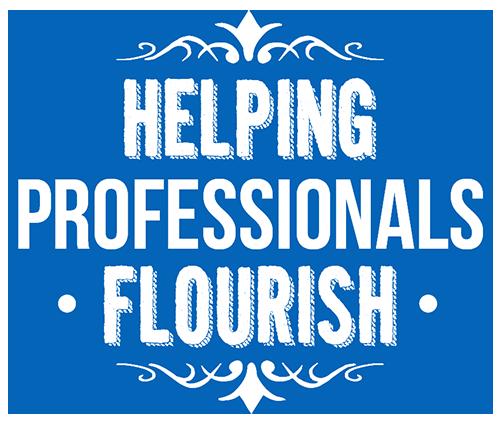 Helping professionals flourish