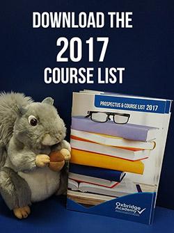 Download the Oxbridge courselist